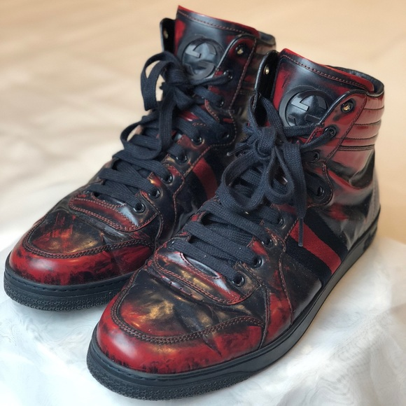 94a56a6e9 Gucci Shoes   Limited Edition High Top Sneakers 250   Poshmark